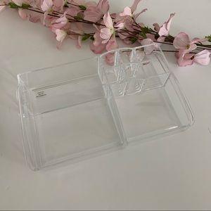 Other - Acrylic makeup cosmetic vanity tray